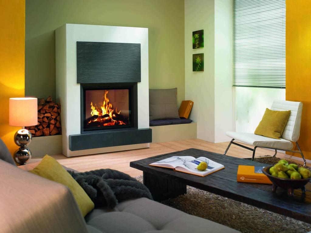 kamin mit kachelfassade ihre wohlf hloase kamine und. Black Bedroom Furniture Sets. Home Design Ideas